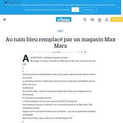 Au nain bleu remplacé par un magasin Max Mara - Le Parisien