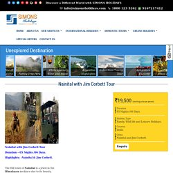 Nainital Tour/Travel Packages