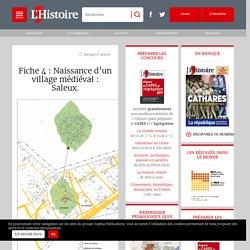 Fiche 4 : Naissance d'un village médiéval : Saleux.