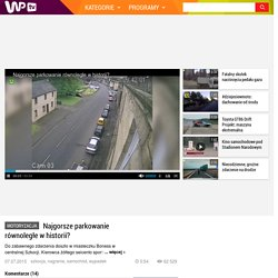 Najgorsze parkowanie równoległe w historii? - WP.tv