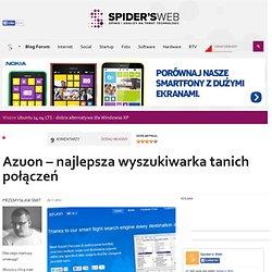 Azuon – najlepsza wyszukiwarka tanich połączeń