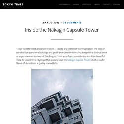 The Nakagin Capsule Tower — Tokyo Times
