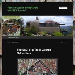 Richard Olsen's HANDMADE HOUSES Journal