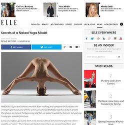 Naked Yoga - Luba Shumeyko, Peter Hegre