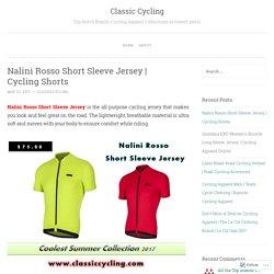 Nalini Rosso Short Sleeve Jersey