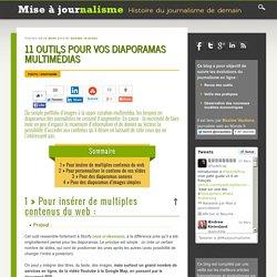 11 outils pour vos diaporamas multimédias