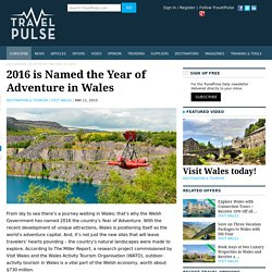 2016 is Named the Year of Adventure in Wales