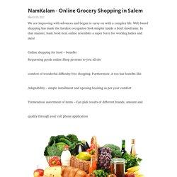NamKalam - Online Grocery Shopping in Salem – Telegraph