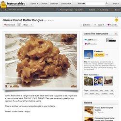 Nana's Peanut Butter Bangles