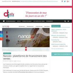 Nanceo : plateforme de financement des ventes