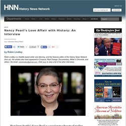 Nancy Pearl's Love Affair with History: An Interview