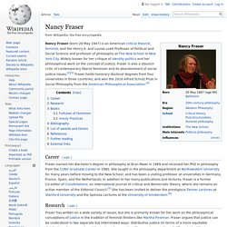 Nancy Fraser - Wikipedia