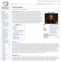 Nancy Fraser - Wikipedia