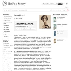 Nancy Mitford Books