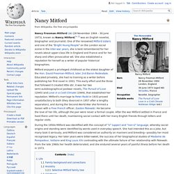 Nancy Mitford - Wikipedia