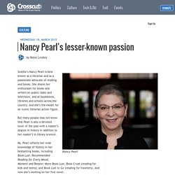 Nancy Pearl's lesser-known passion