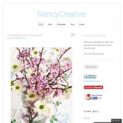 NancyCreative | Food and recipes, home and garden, faith and encouragement.