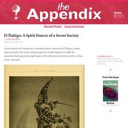 El Ñáñigo: A Spirit Dancer of a Secret Society—Vol. 2, No. 2—The Appendix
