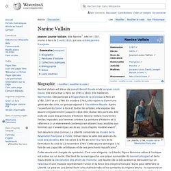 Nanine Vallain