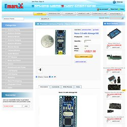 Arduino Nano ATmega168 - emartee.com