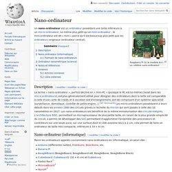 Nano-ordinateur