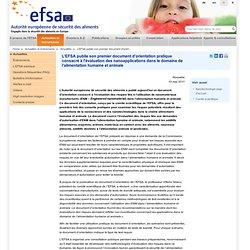 EFSA 10/05/11 L'EFSA publie son premier document d'orientation pratique consacré à l'évaluation des nanoapplications dans le dom