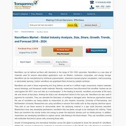 Nanofibers Market - Global Industry Analysis and Forecast 2016 - 2024