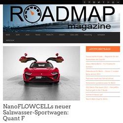 NanoFLOWCELLs neuer Salzwasser-Sportwagen: Quant F