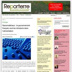 Nanomatériaux : le gouvernement français veut les introduire dans l'alimentation