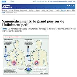 16 mai 2015 - Santé: Nanomédicaments: le grand pouvoir de l'infiniment petit -