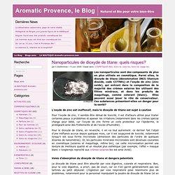 Nanoparticules de dioxyde