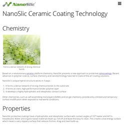 NanoSlic Ceramic Coating Technology - Nanoslic Protective Ceramic Coatings