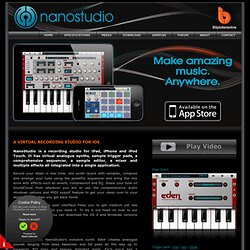NanoStudio - music recording studio for iOS, OS X and Windows | BlipInteractive.co.uk