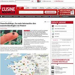 NanoTechMap : la carte interactive des nanotechnologies en France