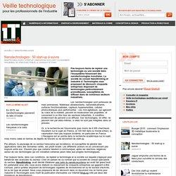 Nanotechnologies : 50 start-up à suivre