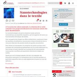 Nanotechnologies dans le textile