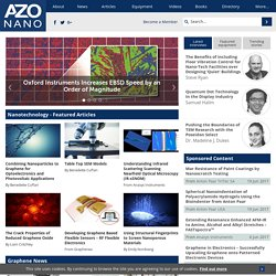 A to Z Nanotechnology | Nanotechnology News, Articles, Directory and more