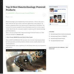 Top 10 Best Nanotechnology-Powered Products 2015