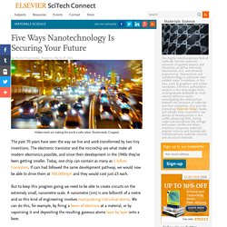 Five Ways Nanotechnology Is Securing Your Future
