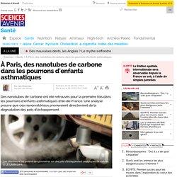 Des nanotubes de carbone plein les poumons !