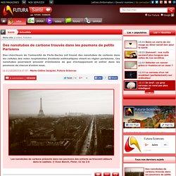 Des nanotubes de carbone trouvés dans les poumons de petits Parisiens
