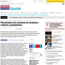 Nanotubes de carbone et amiante : mêmes symptômes - 22 mai 2008
