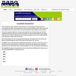 Nanorisk: Insider Health Report