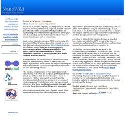 tracking nanotech