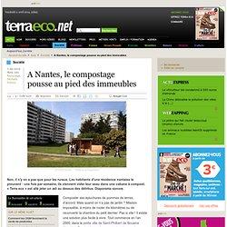 A Nantes, le compostage pousse au pied des immeubles
