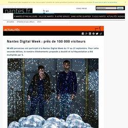 Digital Week : près de 100 000 visiteurs