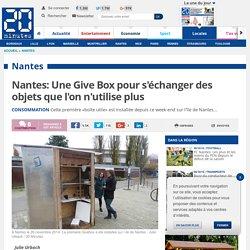 Nantes: Une Give Box pour s'échanger des objets que l'on n'utilise plus