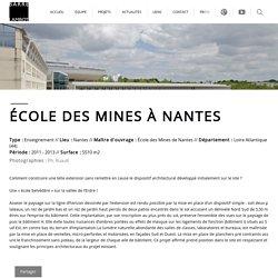 École des Mines à Nantes - Enseignement Barré-Lambot, Nantes