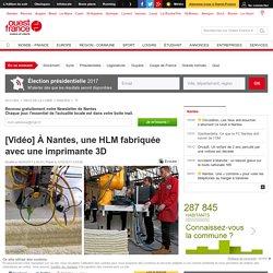 [Vidéo] À Nantes, une HLM fabriquée avec une imprimante 3D