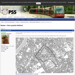 Nantes - Futur quartier Mellinet